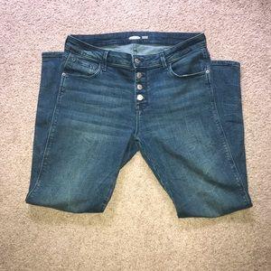 Old Navy Super Skinny Rockstar Jeans sz 12